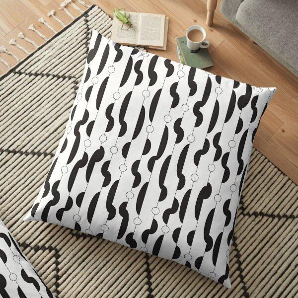 Squiggleoo Filled pattern Floor Pillow