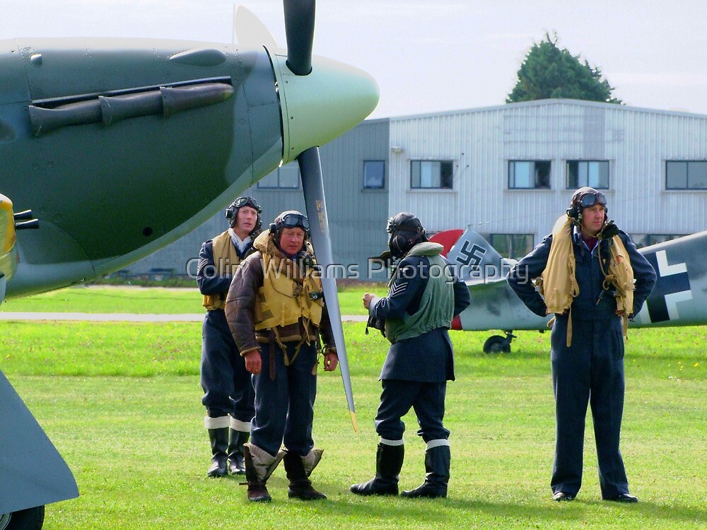 Seventy Years On!, We Salute Them ! by Colin  Williams Photography