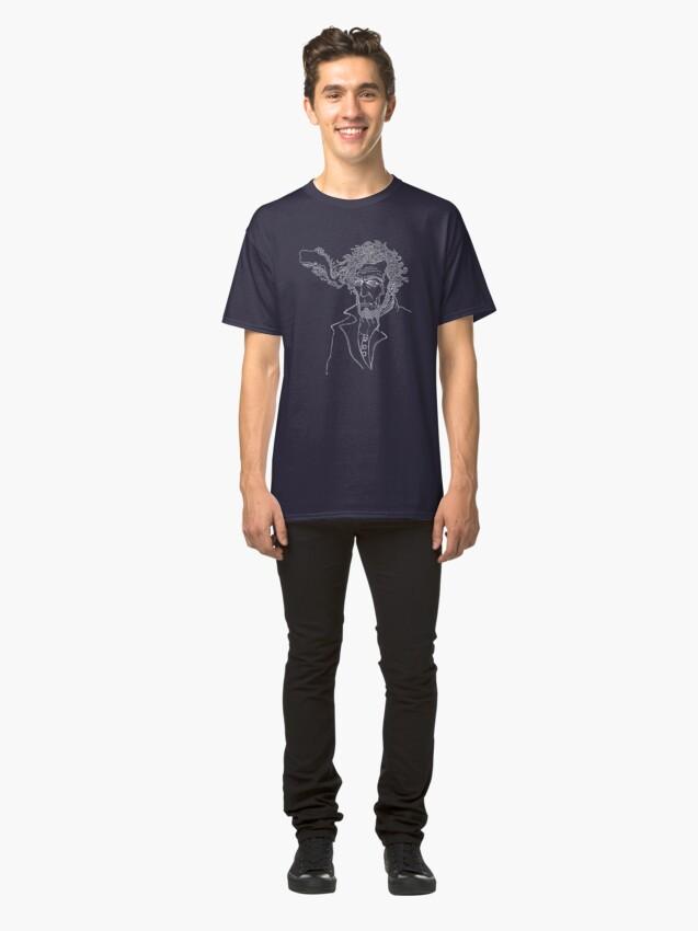 Alternate view of Captain Ahab  Classic T-Shirt