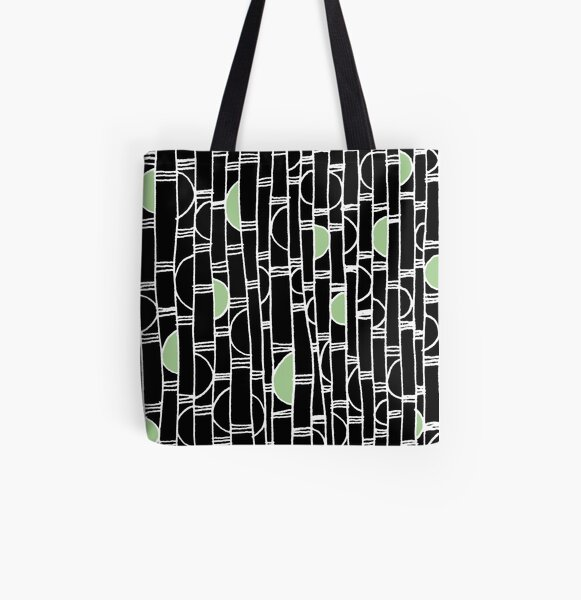 Bamboogie pattern All Over Print Tote Bag