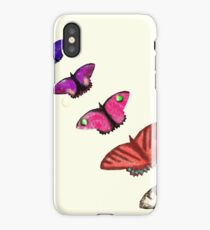 Butterfly stencils  iPhone Case