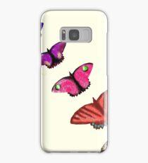 Butterfly stencils  Samsung Galaxy Case/Skin