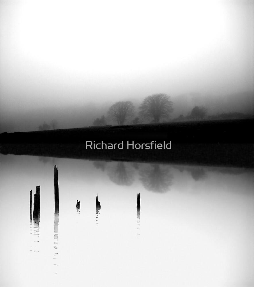 Dead calm and foggy by Richard Horsfield