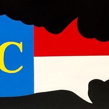 NC Flag Wahoo by barryknauff
