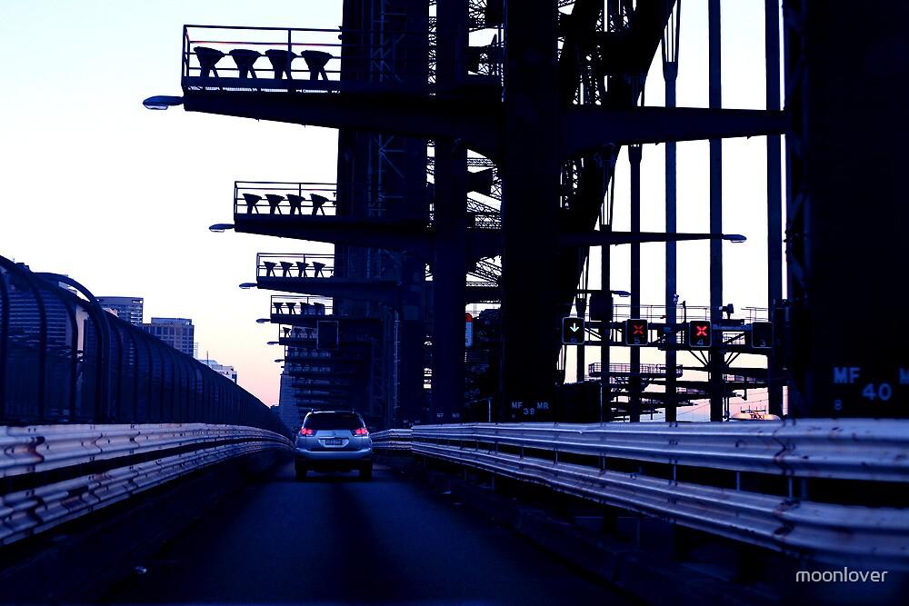 Death Star Run - Sydney Harbour Bridge by moonlover