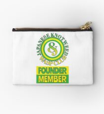 Japanese Knotweed and Wasp Club Founder Member Studio Pouch