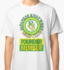 Japanese Knotweed and Wasp Club Founder Member Classic T-Shirt