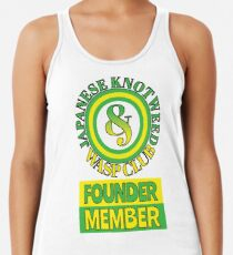 Japanese Knotweed and Wasp Club Founder Member Women's Tank Top