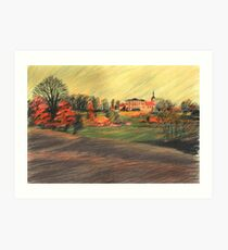 Schloss Ettersburg Art Print
