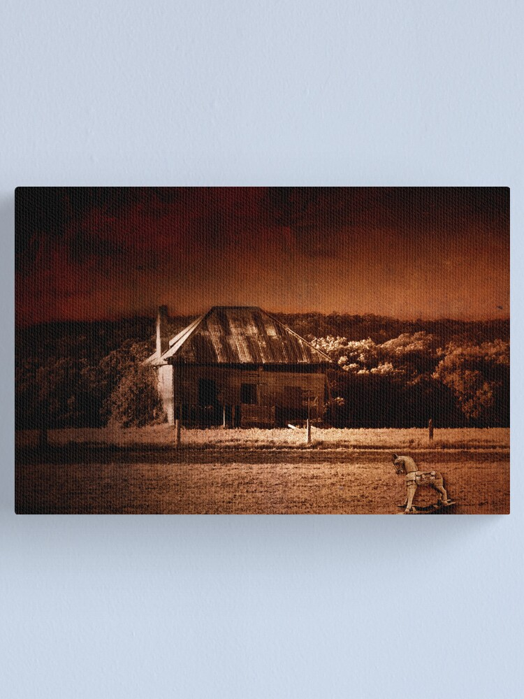 Alternate view of Shoalhaven Farm Canvas Print
