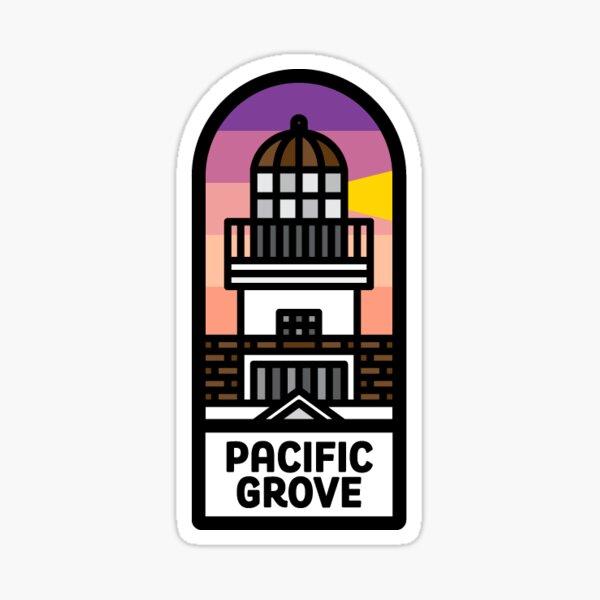 141. Pacific Grove, CA Sticker