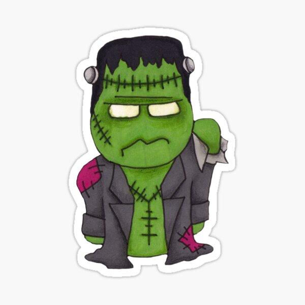 Mini Frankenstein Sticker