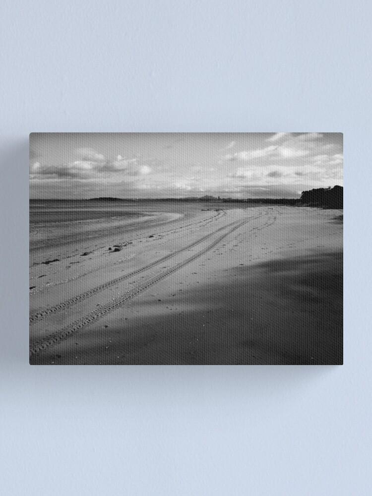 Alternate view of Tracks Canvas Print