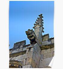 Gargoyle - St Olaves, Marygate,York Poster