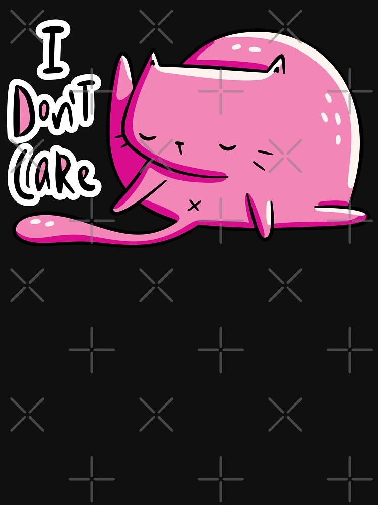 Don't Care Cat by LydiaLyd