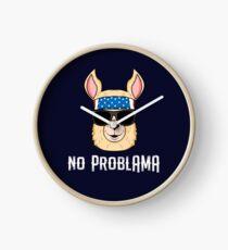 No Problama  Clock