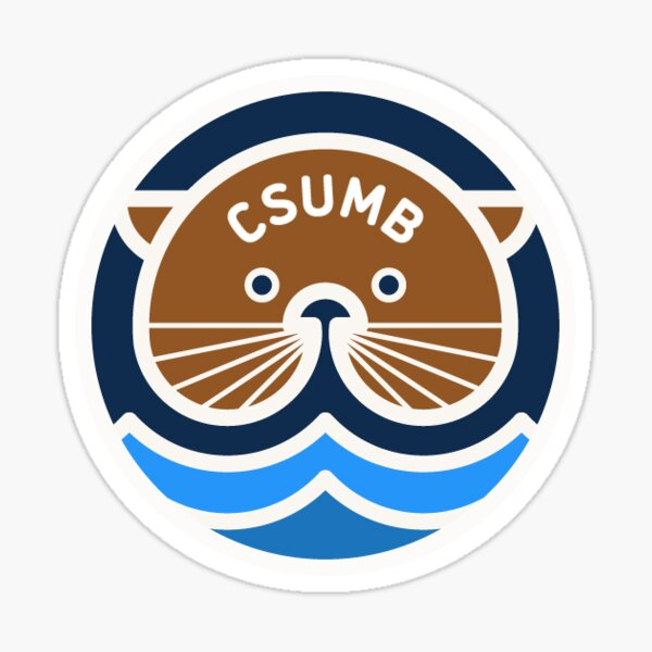 158. CSUMB, Seaside, CA 2 Sticker