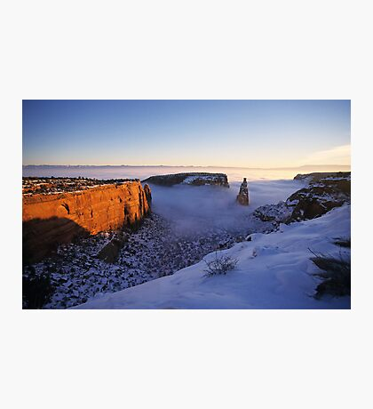Independence Rock, Colorado National Monument Photographic Print