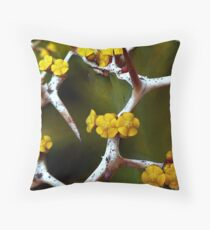 Hope Between the Thorns Throw Pillow