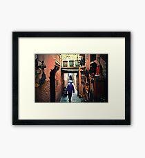 Medina walker Framed Print