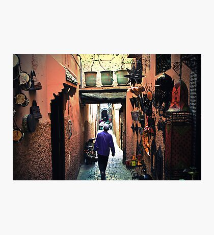 Medina walker Photographic Print