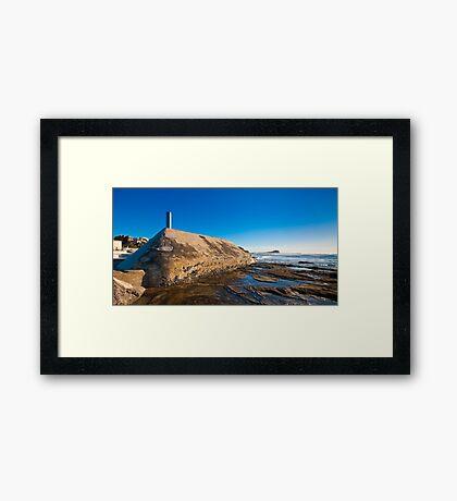 Sunrise from Newcastle Baths Framed Print