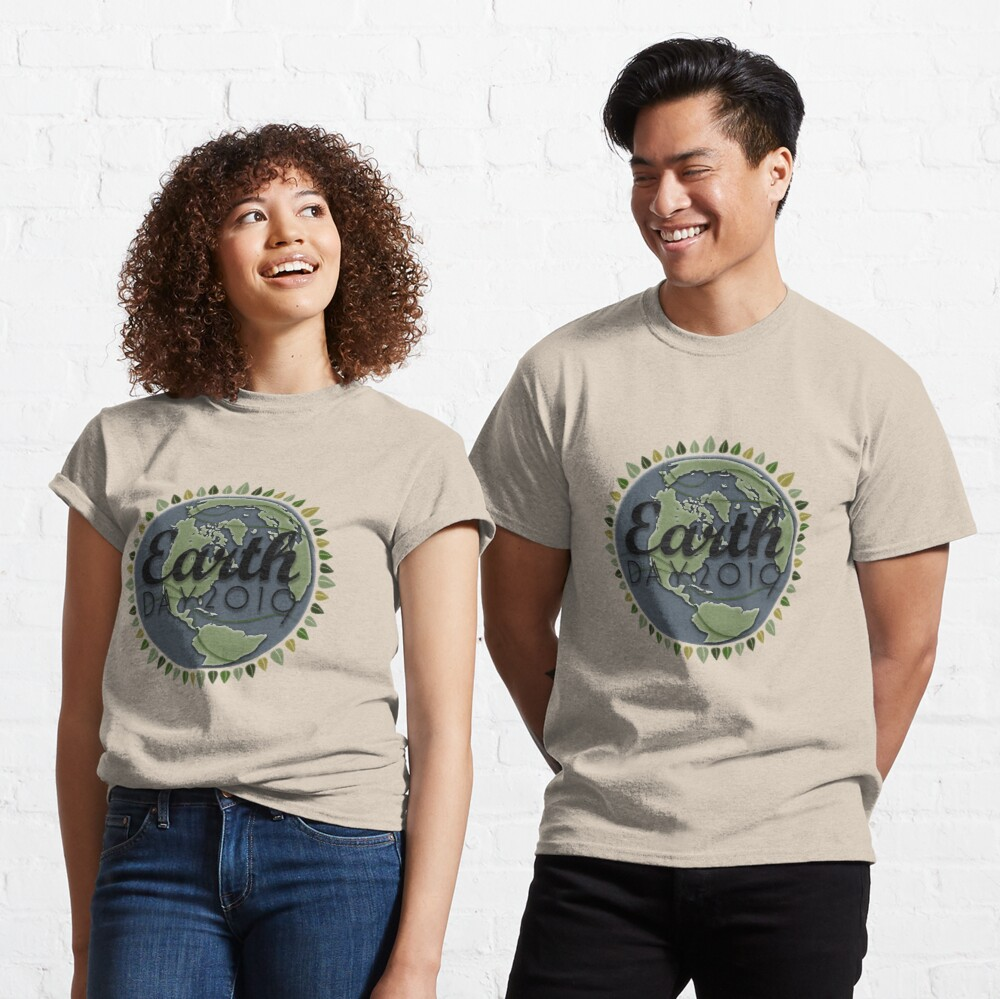 Earth Day 2019 - Textured paper Classic T-Shirt
