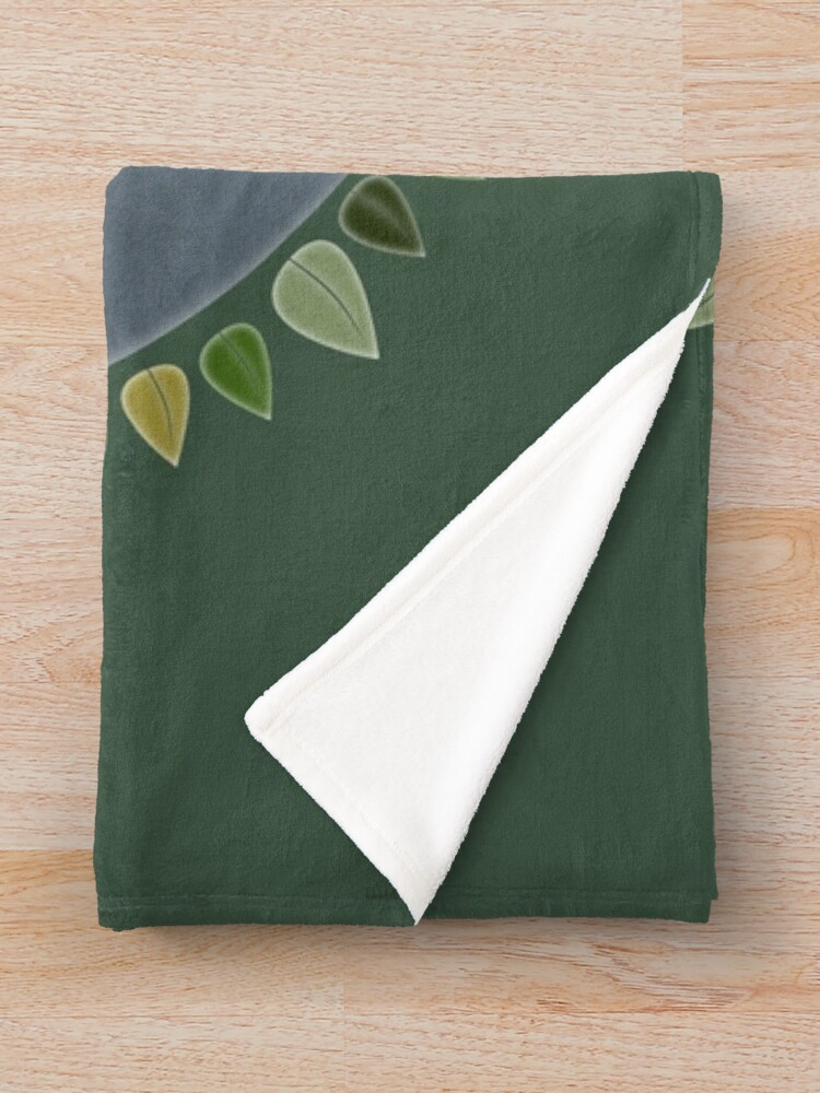 Alternate view of Earth Day 2019 - Textured paper Throw Blanket