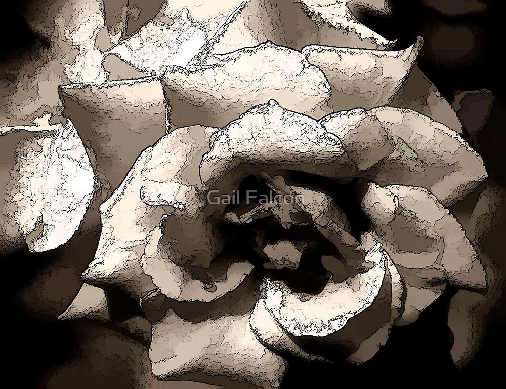 Paper Rose by Gail Falcon