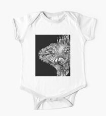 Black And White Iguana Art - One Cool Dude 2 - Sharon Cummings Kids Clothes