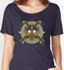Art Deco Gasmask (Transparent) Women's Relaxed Fit T-Shirt