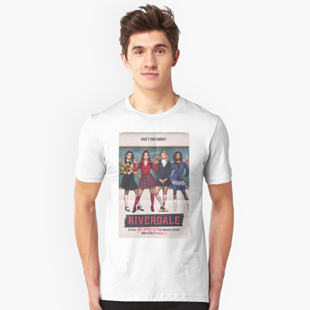 Riverdale - Heathers das Musical Slim Fit T-Shirt