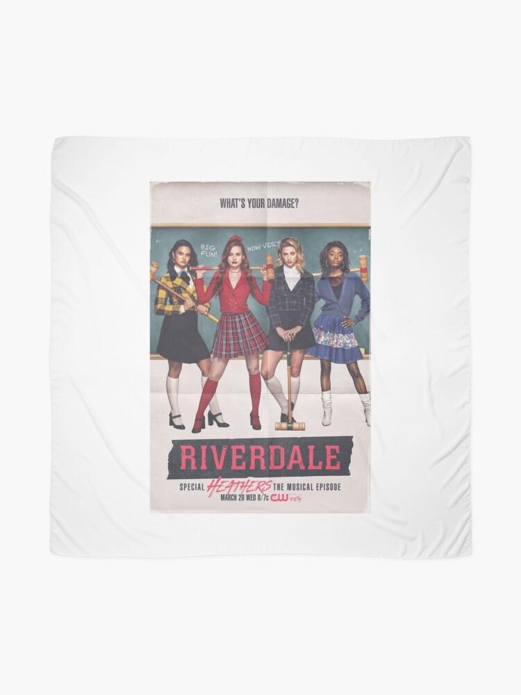 Alternative Ansicht von Riverdale - Heathers das Musical Tuch