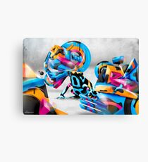 Toxic Camouflage Canvas Print