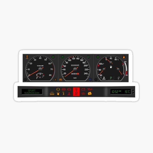 Citroën XM dashboard instrument panel Sticker