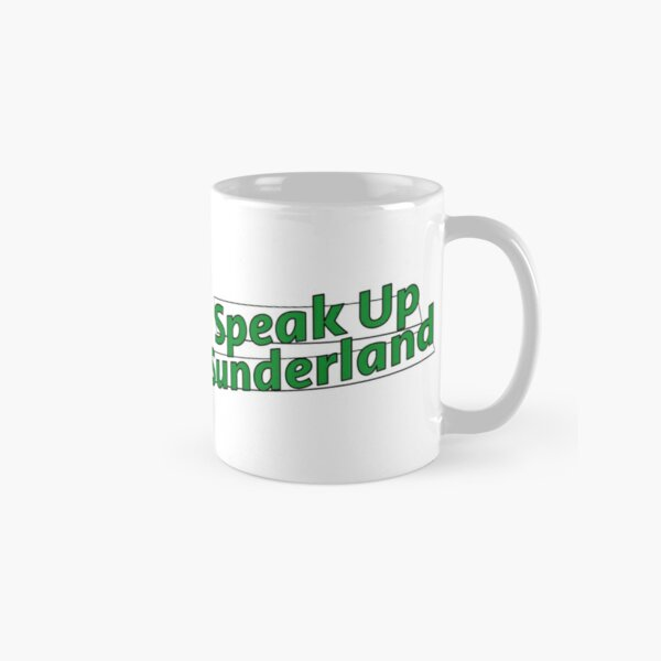 Speak Up Sunderland Logo Classic Mug