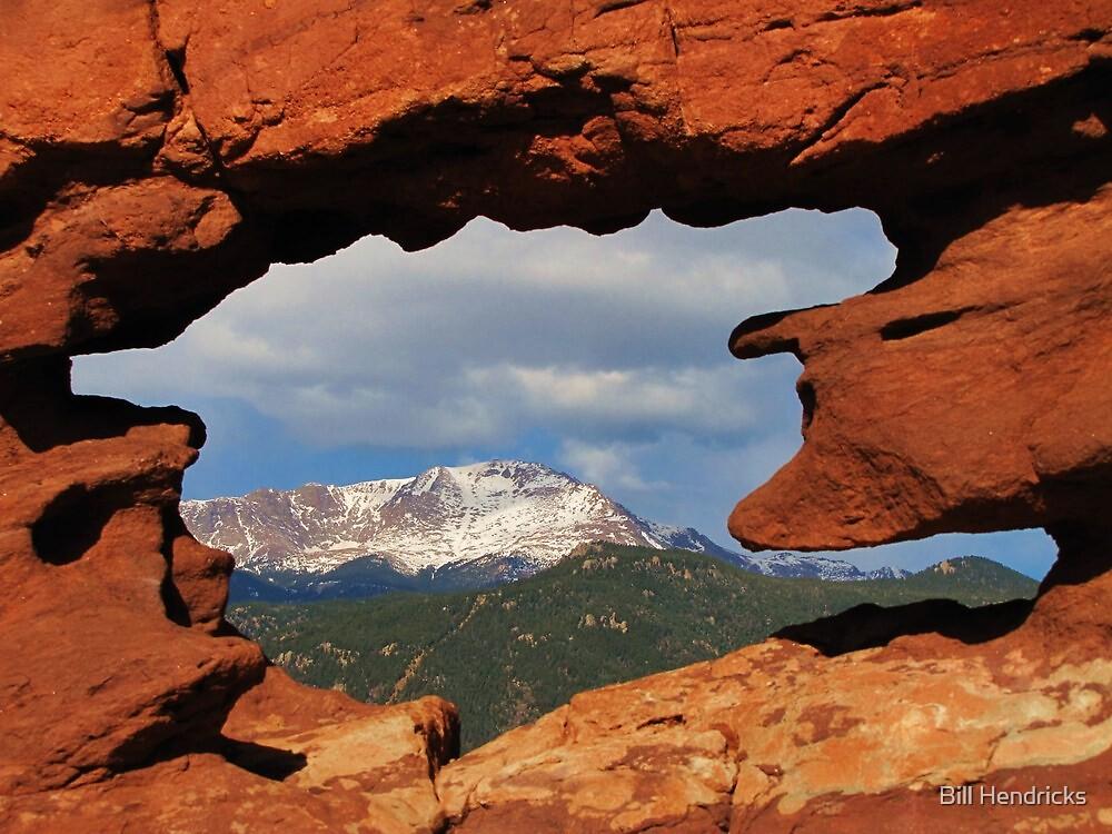 Window to Pikes Peak by Bill Hendricks