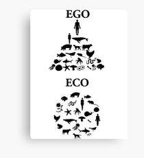 EGO ECO Canvas Print