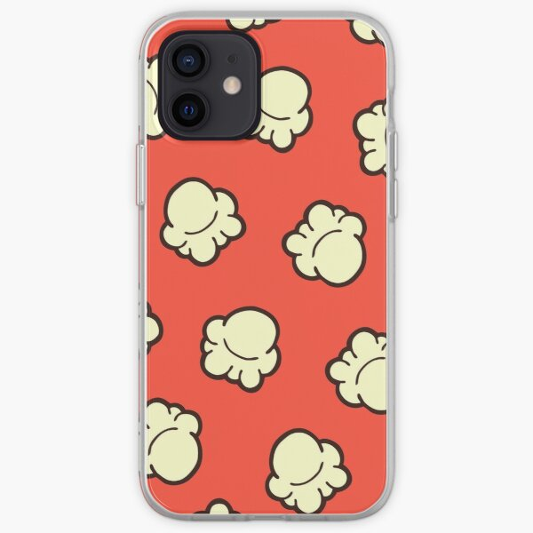 Popcorn Pattern iPhone Soft Case
