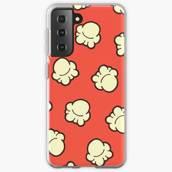 Popcorn Pattern Samsung Galaxy Soft Case