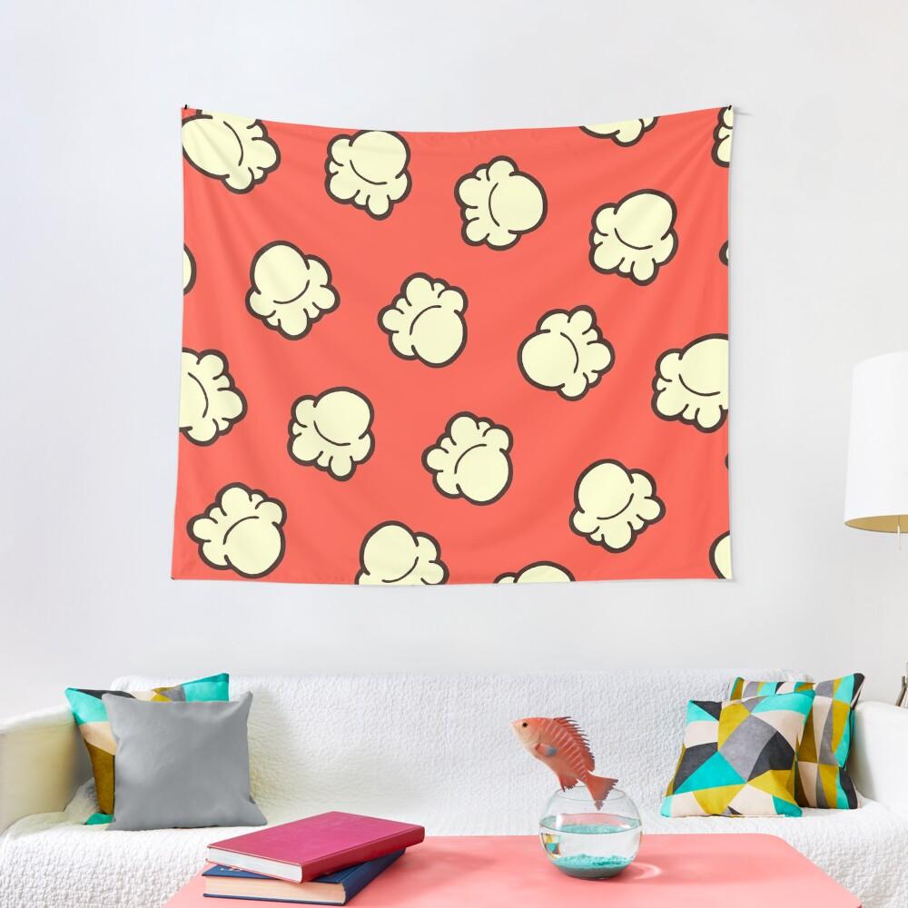 Popcorn Pattern Tapestry