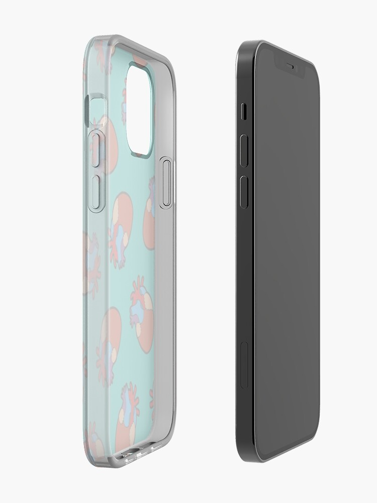 Alternate view of Anatomical Heart Pattern iPhone Case & Cover