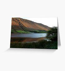Tal-y-llyn Lake, Cadair Idris, Wales Greeting Card