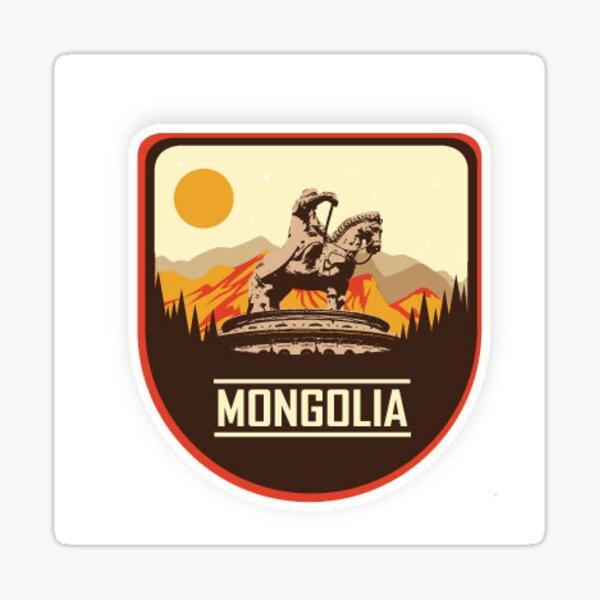 Mongolian Sticker Sticker