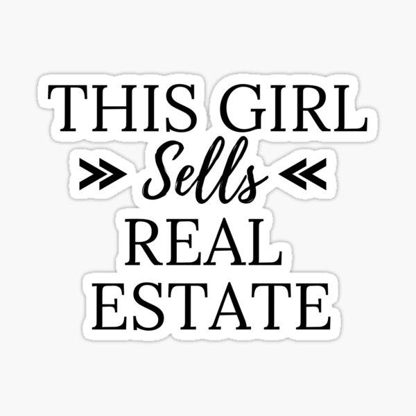 Sells Real Estate Sticker