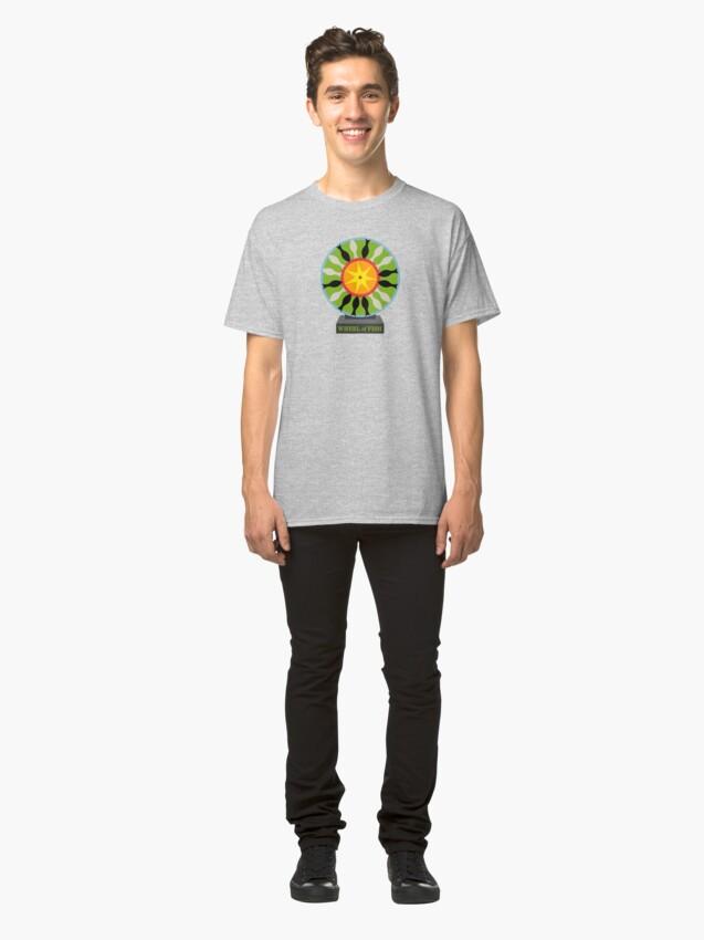Alternate view of Wheel of Fish Classic T-Shirt
