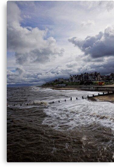Storm Rolling In by Karen  Betts