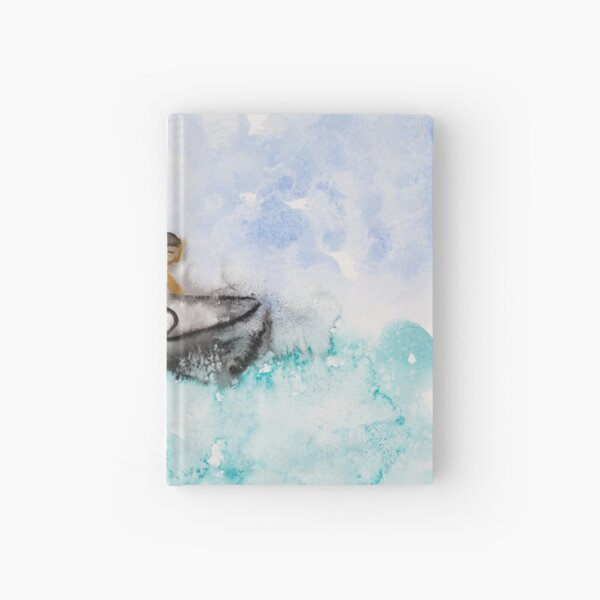 Stay on the Boat vti Hardcover Journal