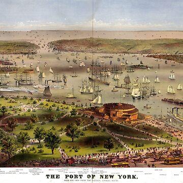 The Port of New York - 1872 by CrankyOldDude