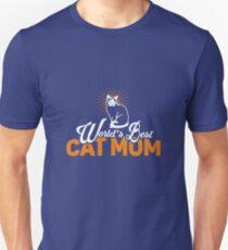 Die beste Katzenmutter der Welt lustig Slim Fit T-Shirt